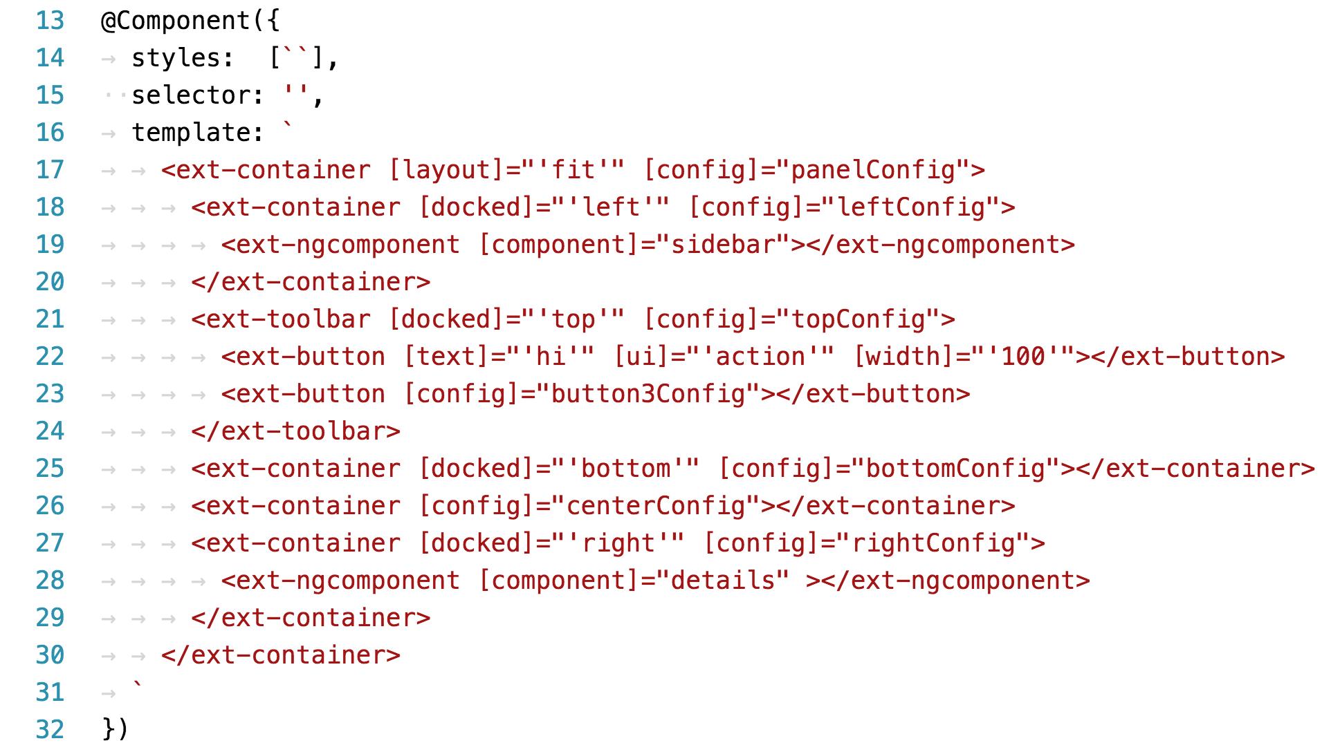 ... Letter Apply First Look Ext Js Bridge To Angular 2 Sencha Com ...