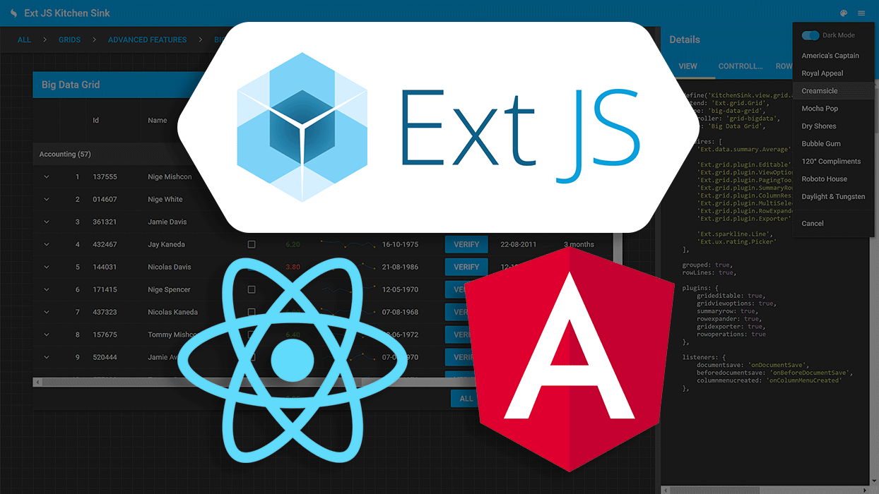 Ext JS for Open Source
