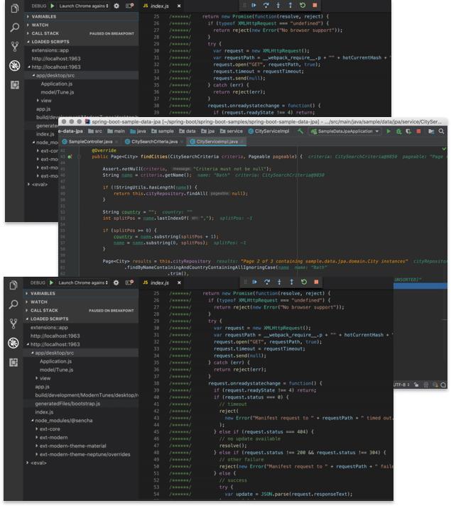 IDE and Code Editor Plugins - Sencha com